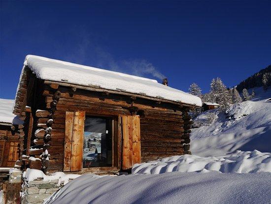 Evolene, Switzerland: mayen à Pierre