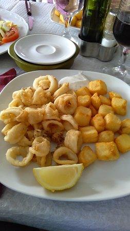 Archidona, Spanien: 1/2 calamares fritos