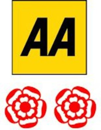 Radstock, UK: We have been awarded 2 AA Rosettes for our food