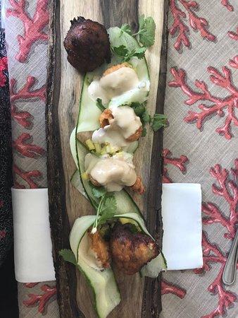 Port Shepstone, South Africa: Stunning food