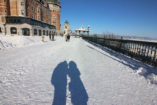La Promenade des Gouverneurs : sombra