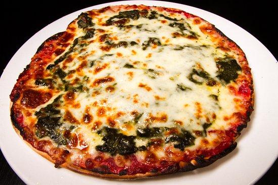 ซันนีไอเอลส์บีช, ฟลอริด้า: Spinach Pizza
