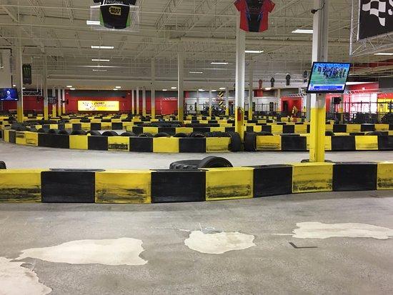 Cheektowaga, NY: Pole Position Raceway - the track