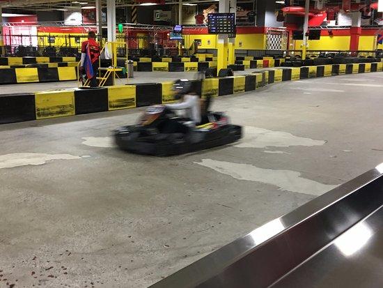 Cheektowaga, NY: Pole Position Raceway - race cars