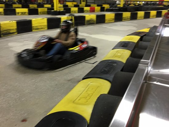 Cheektowaga, NY: Pole Position Raceway - race car up front