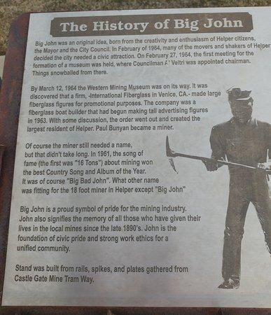 Helper, UT: History of Big John