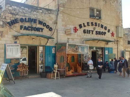 Blessings Gift Shop and The Olive Wood Factory