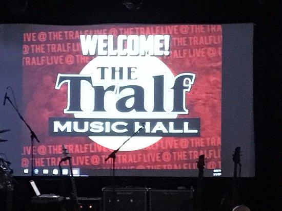 Tralf Music Hall: The Tralf - screens inside