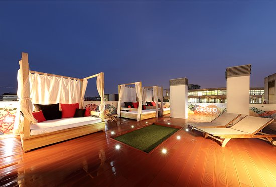 Castro Exclusive Residences & Spa Sagrada Familia: Terraza