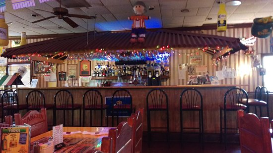 Greeneville, TN: A look at the bar area, even more festive.