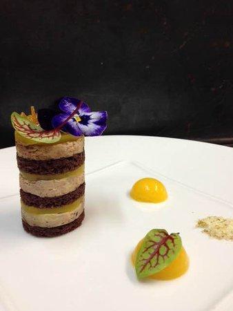 Restaurant gastronomique Les Saveurs : Opera de foie gras de canard