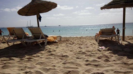 conforto e mordomia na areia - Foto de Praia de Santa Maria, Santa ... 82608318fd