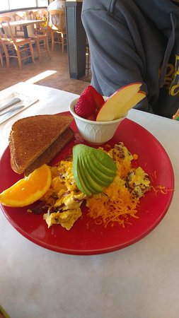 Scotts Valley, CA: Scramble with Avocado