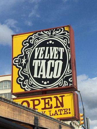 Photo of Mexican Restaurant Velvet Taco at 2700 W 7th St, Fort Worth, TX 76107, United States