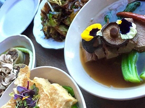 Evanston, IL: Beef brisket, tofu steak