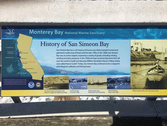 William Randolph Hearst Memorial Beach: Simeon Bay