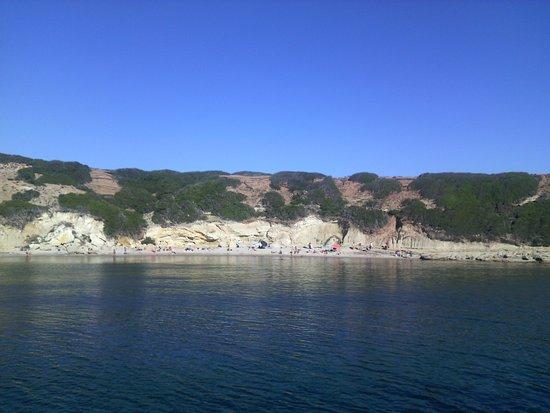 S'archittu, Italy: Spiaggia dell'Arco