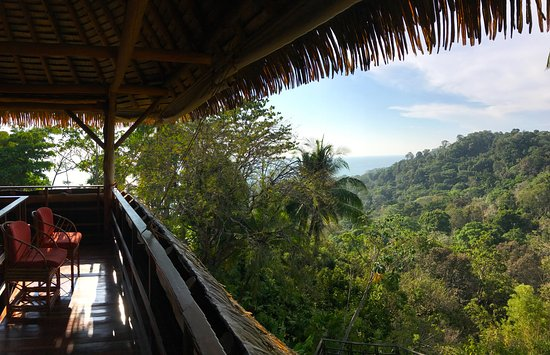 Lapa Rios Ecolodge Osa Peninsula: view from the deck