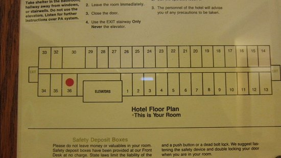 Kansas City Marriott Downtown Room Map
