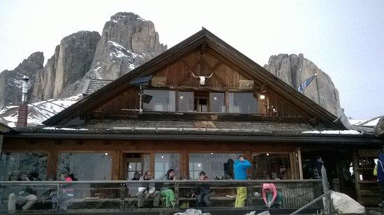 Rifugio Friedrich August: Poca neve ma bello lo stesso