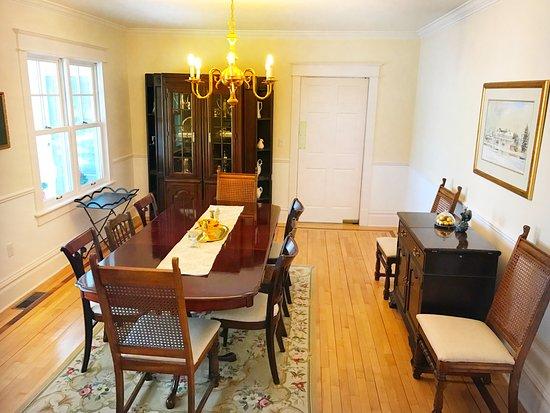 Ephraim, WI: Inn dining room