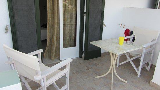 Yialos, Griekenland: balcony