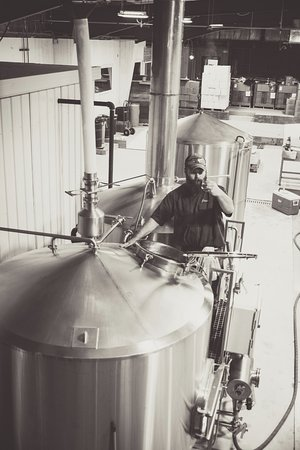 Brewing in Washburn at the South Shore Taphouse.