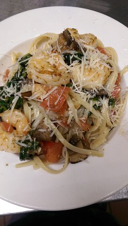 Suwannee, Floride : This weekend specials, Shrimp Casino and Shrimp Pasta. Come and allow your taste buds to experie