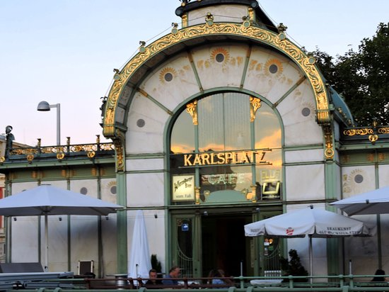 Otto Wagner Pavillon Karlsplatz: café