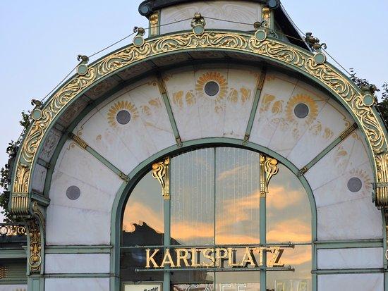 Otto Wagner Pavillon Karlsplatz: techo