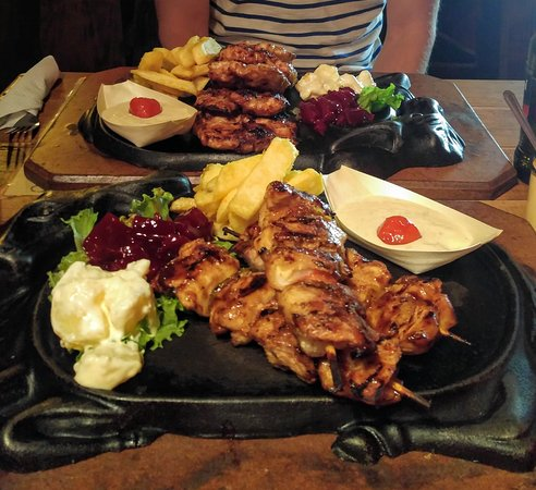 Make sure to visit The little Ranch when you're around. The crocodile steak and kebab are amazin