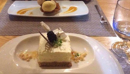 Swinton, UK: Dessert