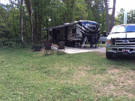 full hookup camping in ohio