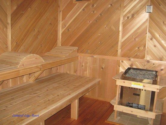 Intervale, Nueva Hampshire: Beautifully Handcrafted Sauna