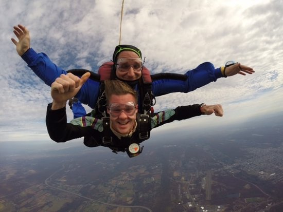 Hazleton, PA: First time skydiving!
