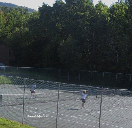Intervale, Nueva Hampshire: Tennis Anyone?