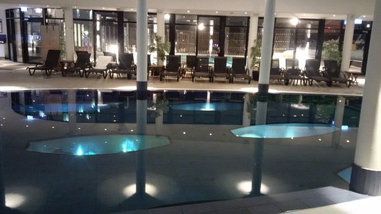 Kosta, Sweden: For those who don't want to try the outdoor pool in winter...