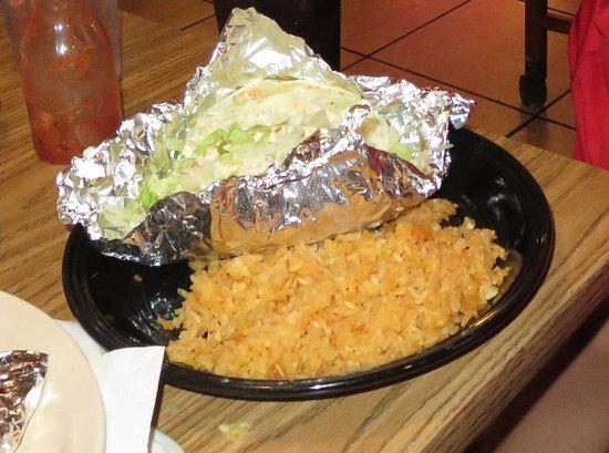Canton, Μισισιπής: Taco platter