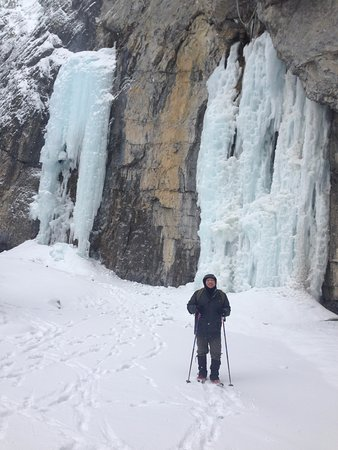 Grotto Canyon: Walking on Ice!
