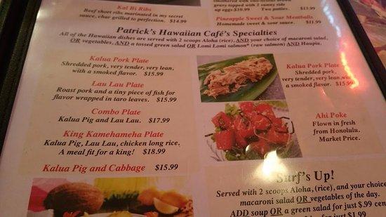 patricks hawaiian cafe vancouver wa