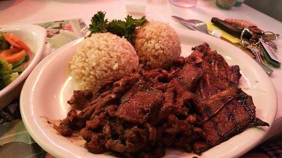Vancouver, WA: Teriyaki chicken, brown rice