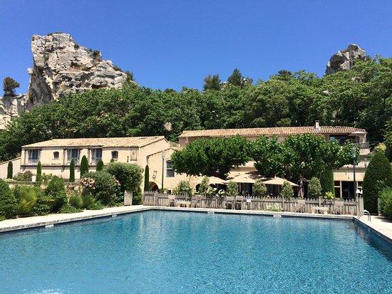 Perfect Baumaniere Les Baux De Provence: Pool Outside Lu0027Oustau Building