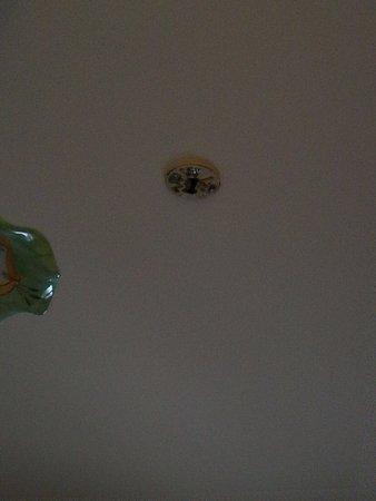 Zafferana Etnea, Włochy: Broken smoke detector