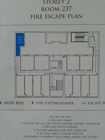 The Porcelain Hotel: Fluchtplan
