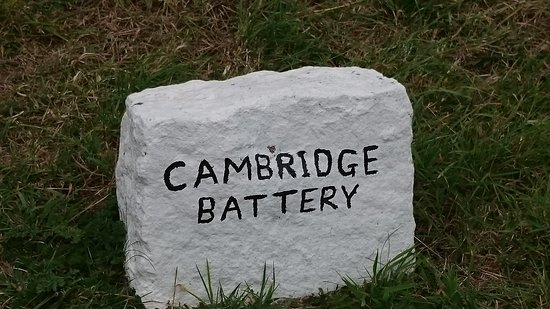 Alderney, UK: Cambridge Battery