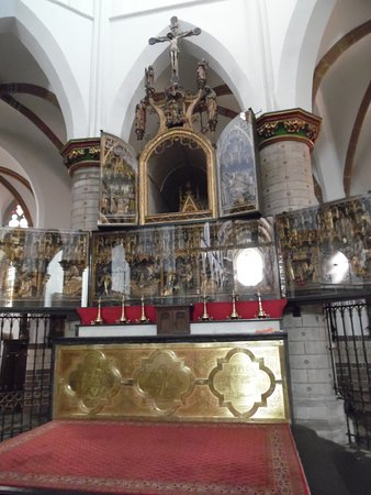 Geel, เบลเยียม: Main altar