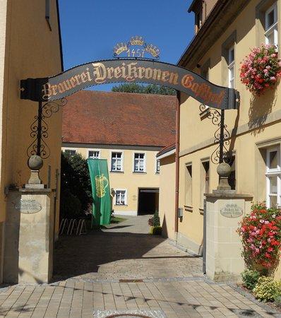 Memmelsdorf, Alemania: Einfahrt