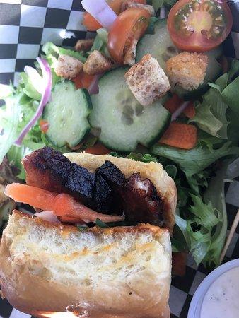 Hermiston, OR: Banh mi with pork belly