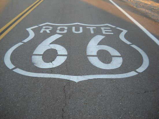 Amboy, CA: Right off Route 66