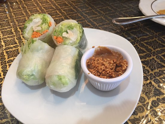 West Boylston, MA: Thai Soft Spring Rolls
